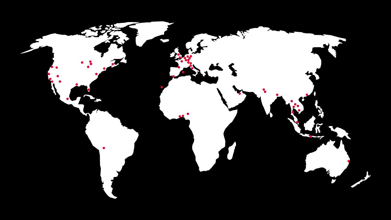 new step media weltweite Vernetzung